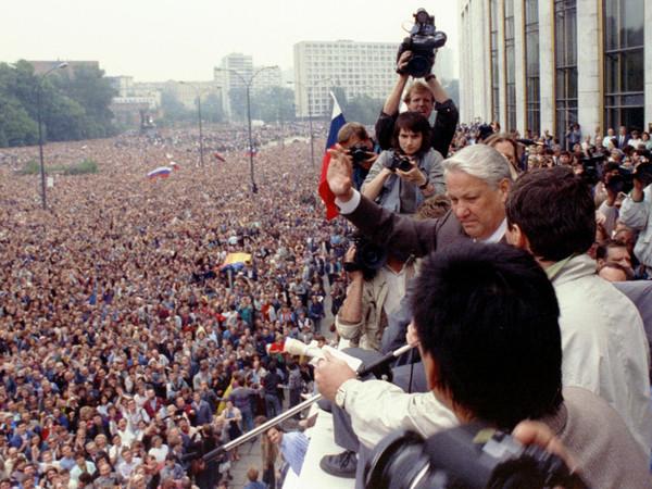 Август 1991-го/ТАСС/Архив Президентского центра Б.Н. Ельцина