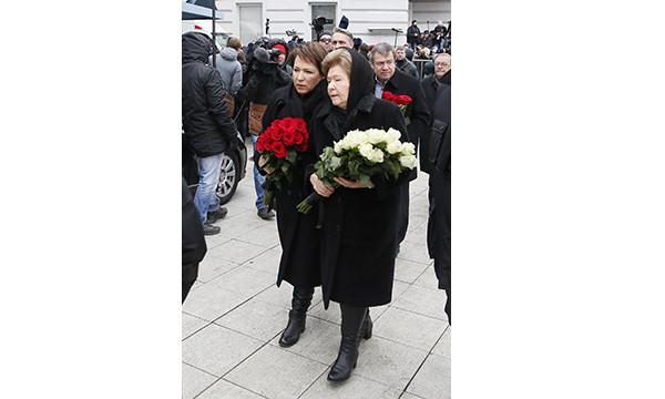 Наина Ельцина, Татьяна Юмашева, Валентин Юмашев, Владимир Шевченко/ТАСС