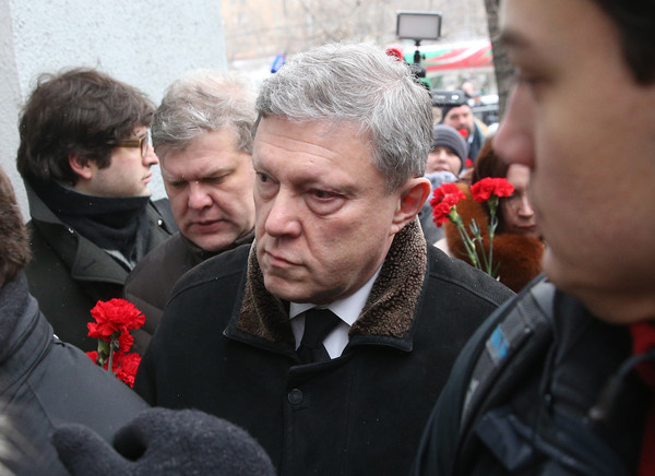 Григорий Явлинский и Сергей Митрохин/ТАСС