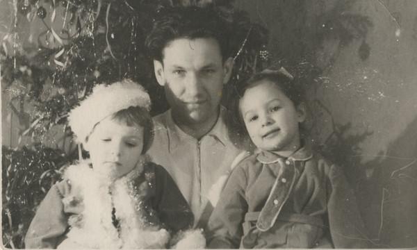Борис Ельцин с дочерьми Еленой и Татьяной/Архив Президентского центра Б.Н. Ельцина