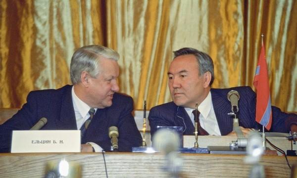 Картинки по запросу нурсултан назарбаев Yeltsin