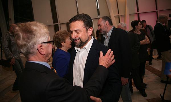 Жорж Нива и Александр Архангельский. Фото Александра С. Курбатова