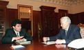 Борис Немцов и Борис Ельцин. Апрель 1997/ТАСС