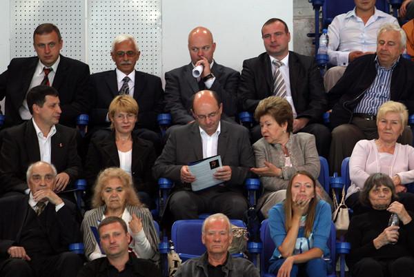 Наина Иосифовна Ельцина среди зителей Кубка Ельцина-2011
