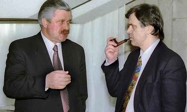 Руцкой и Хасбулатов