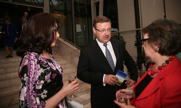 Руководитель Россотрудничества Константин Косачев. Фото Александра С. Курбатова